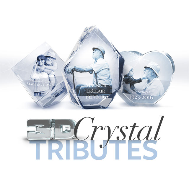 Order A Crystal Tribute
